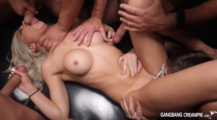 GangbangCreampie –  G134 Kacey Jordan