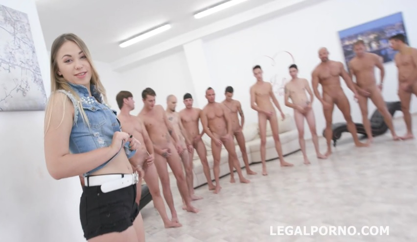 LegalPorno 15on1 GangBang With Selvaggia Balls Deep Anal DAP TP Gapes Final DP 17 Cumshots With Mess…