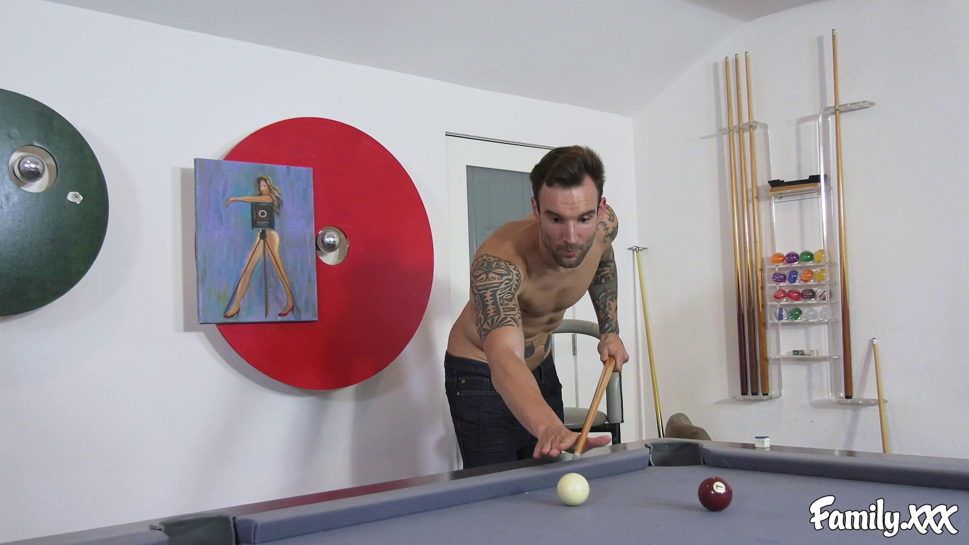 Family – Olive Glass A Fun Game Of Strip Pool