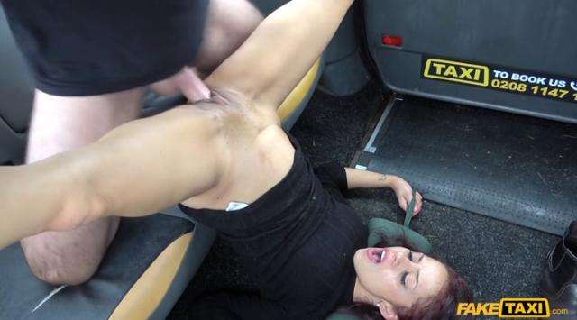 FakeTaxi: Lady tries deepthroating big cock – Myla Elyse