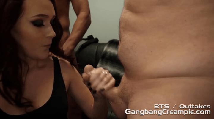 GangbangCreampie – G136 Alice Coxxx BTS