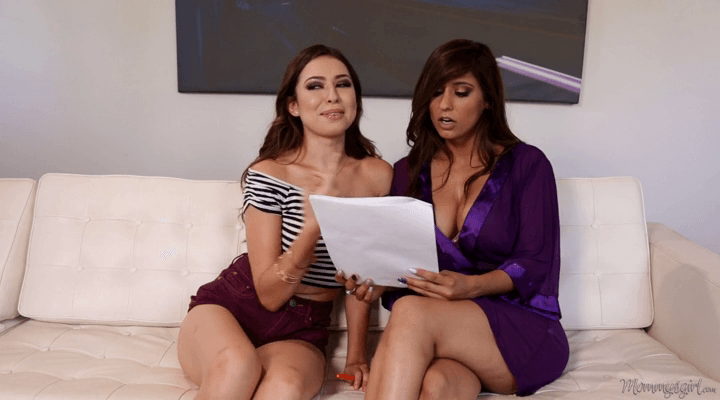 MommysGirl – Reena Sky , Melissa Moore – Cold Reading